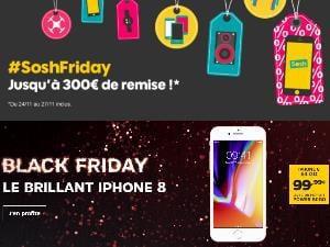 Les promotions Black Friday, mobiles et forfaits