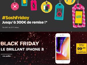 Les promotions Black Friday, mobiles et forfaits