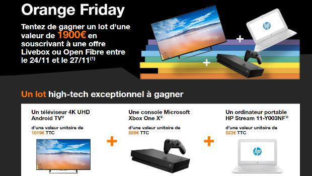 Promos mobiles Black Friday