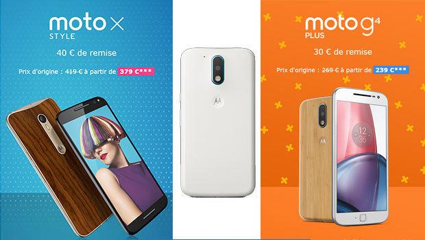 Les offres Black Friday chez Motorola
