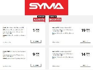 Les offres mobiles Syma