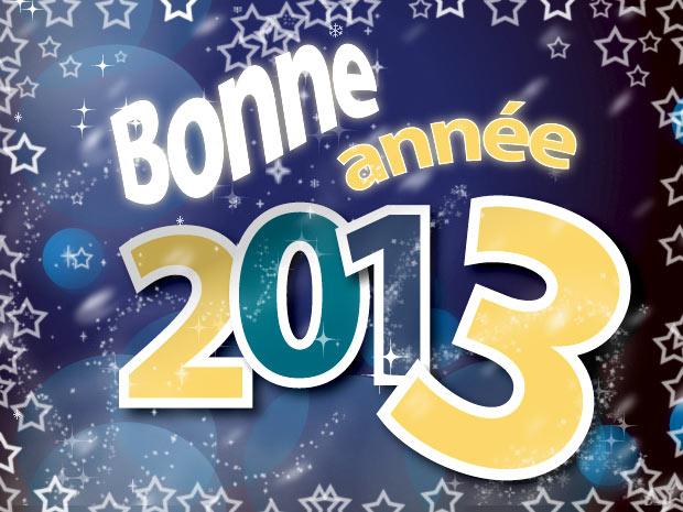 bonne année 2013 et meilleurs voeux !