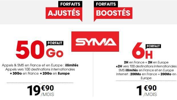 Syma Mobile 50Go