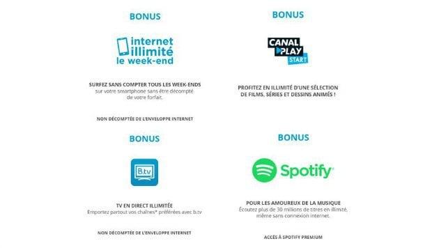 Bouygues : les bonus Sensation jusqu'au 23 janvier