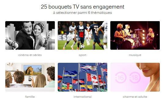 les nouveaux bouquets d'orange tv