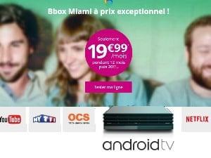 Bbox Miami à 17,99€/mois pendant 12 mois