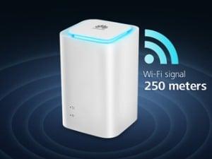 Une box 4G pour se connecter à Internet sur le réseau mobile Bouygues Telecom