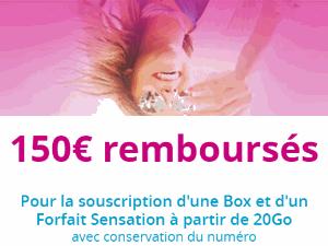 150€ de remboursés