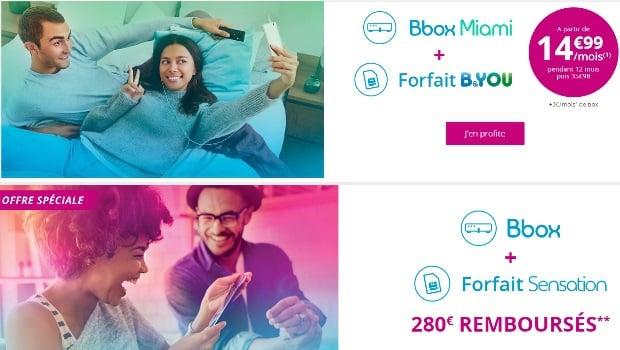 Bbox Miami et Bbox : bons plans