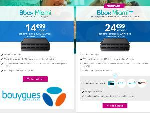 Bbox Miami fibre en promotion