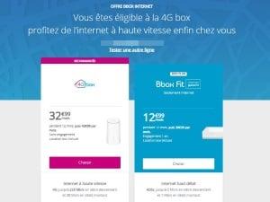 Eligibilité 4G Box de Bouygues Telecom