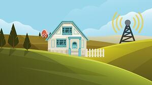 Antenne 4G pour un foyer