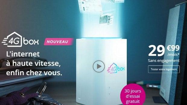 Bouygues: la 4G Box à partir de 29,99€/mois