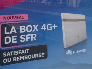 La box 4G+ de SFR, c'est satisfait ou remboursé le premier mois