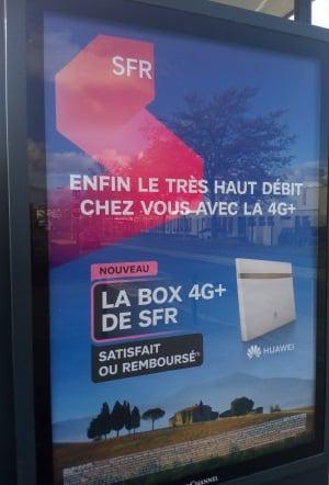 Lancement de la Box 4G+ de SFR