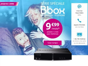 Bouygues : promotion bbox
