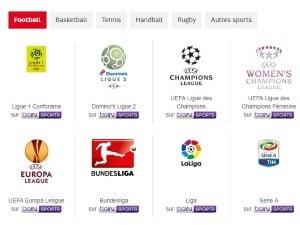 Offre SFR Sport : Bein Sports inclus à vie