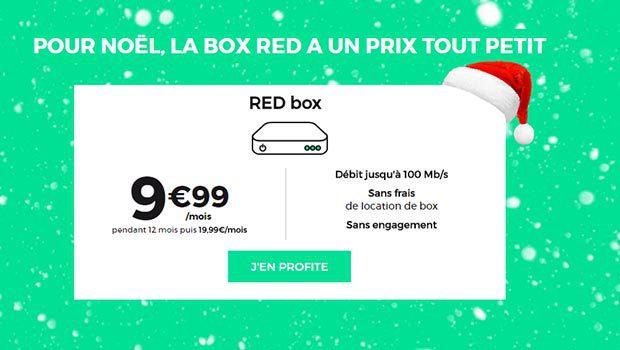 Les offres Fibre RED by SFR'
