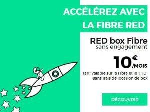 RED by SFR : abonnement fibre pas cher