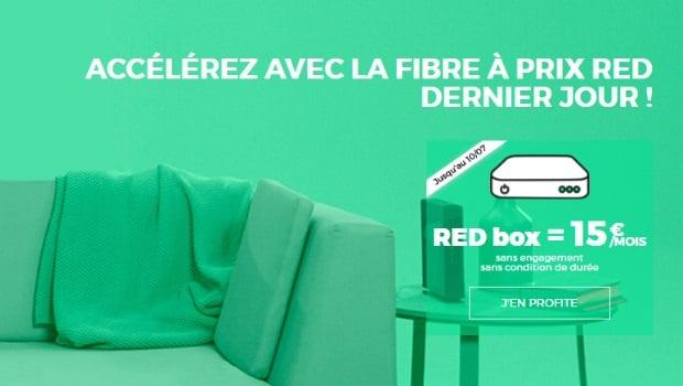 RED by SFR, la Box à 15€/mois à vie