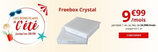 Freebox en promo