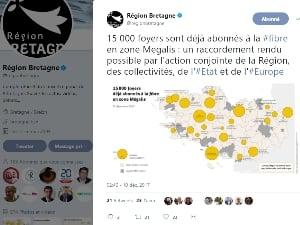 Mégalis Bretagne déploie la fibre en zone d'initiative publique bretonne