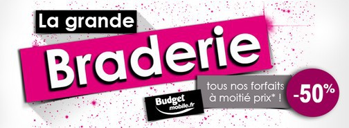 Grande Braderie Budget Mobile