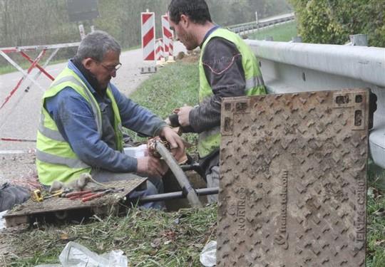 vol de câbles France Télécom