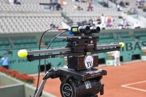 Caméra TV 3D à Roland Garros