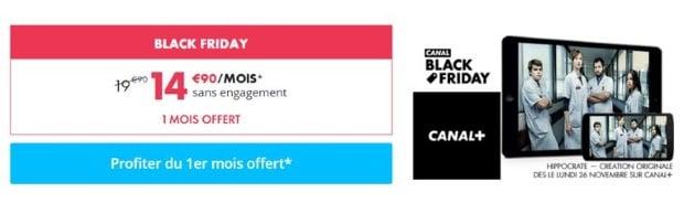 Abonnement Canal à 14,99 euros/mois sans engagement