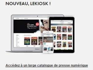 Canal+ : offre presse avec MyCanal