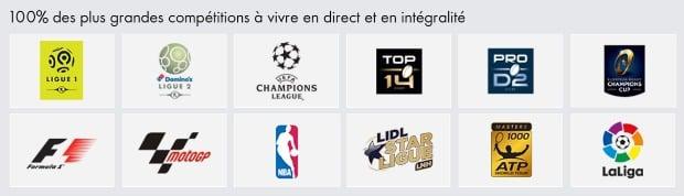 Canal Essentiel Sport : les plus grands championnats