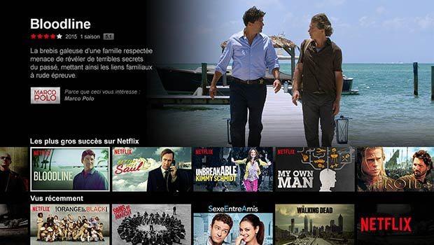 Netflix, un catalogue français encore un peu faible...