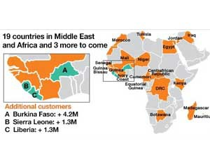 carte orange afrique