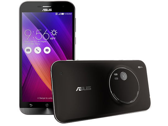 ASUS Zenfone Zoom, zoom optique 3x et mise au point laser