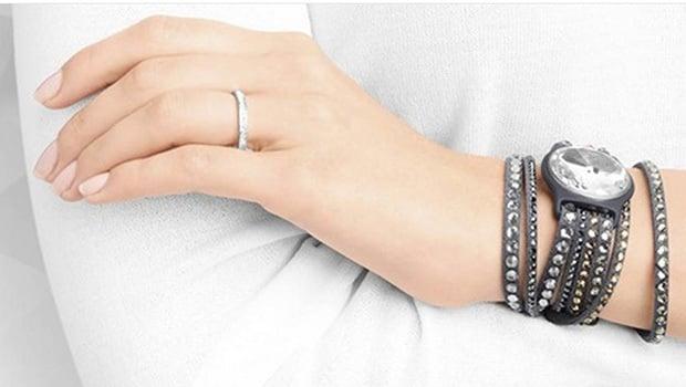 Le bracelet Shine de Misfit, en version Swarovski
