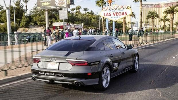 Audi A7 : 900 km en toute autonomie