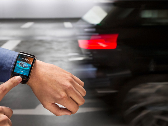 Les montres connectées pour contrôler sa voiture ?