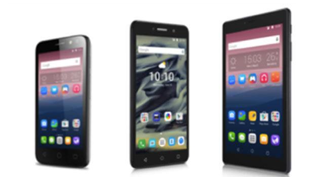 Alcatel PIXI 4, de nouveaux smartphones d'entrée de gamme