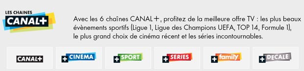 chaines canal plus