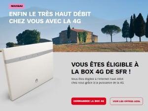 Eligibilité box 4G de SFR