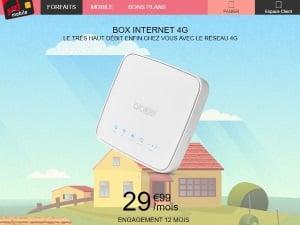 Eligibilité box 4G NRJ Mobile