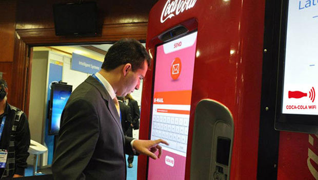 Coca-Cola, Intel, Wi-Fi... un cocktail connecté