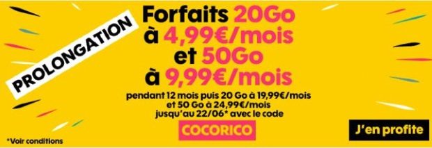 Forfait Sosh en promo