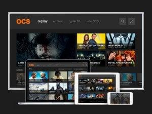 OCS inclus avec les abonnements SFR et Canal + ciné séries
