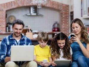 Protéger son enfant avec smartphone