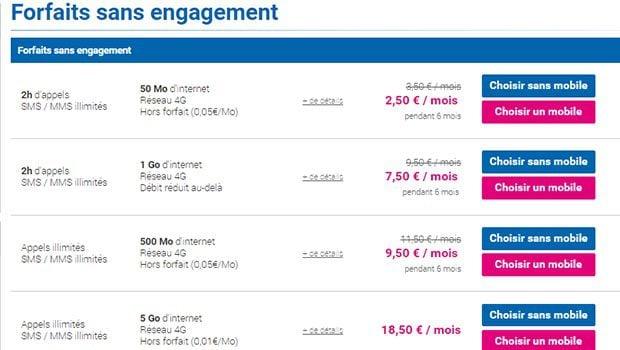 Forfait Brio 24/24 Coriolis Telecom à 6€/mois