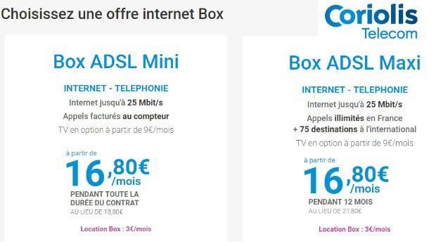 Coriolis Box ADSL