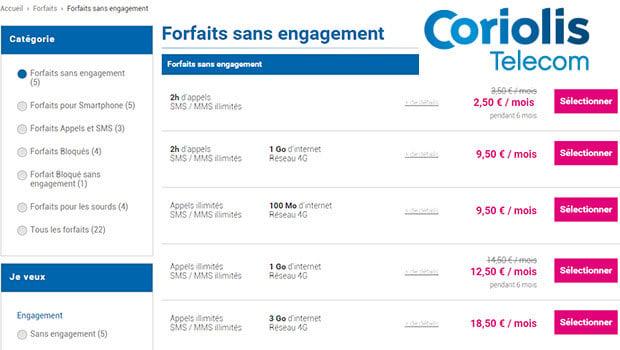 Le forfait 2 heures / SMS et MMS Illimités à seulement 2,50 euros