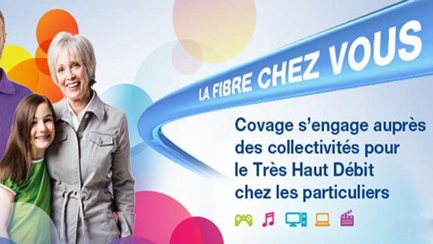 COVAGE déploie la fibre optique en Auvergne…